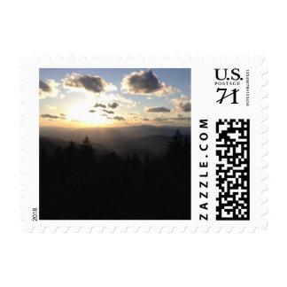 Smoky Mountain Sunset Stamps