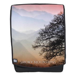 Smoky Mountain Sunset Travel Photography Backpack