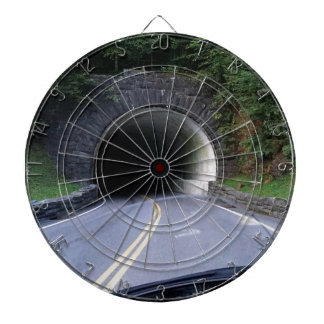 Smoky Mountain Tunnel Dart Board