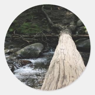 Smoky Mountains Classic Round Sticker