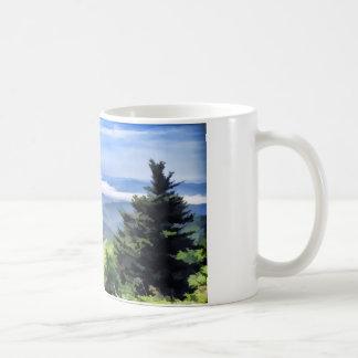 Smoky Mountains Clingman's Dome Coffee Mug