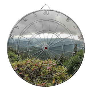 Smoky mountains dartboard