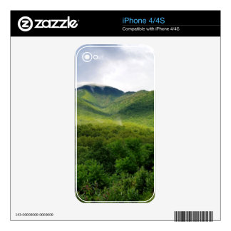Smoky Mountains in The Great Smoky Mountains iPhone 4 Decal