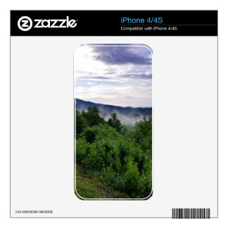 Smoky Mountains in The Great Smoky Mountains iPhone 4 Decals