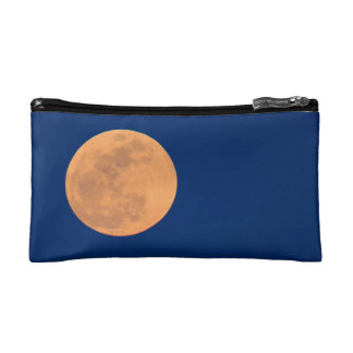 Smoky Mountains Moon Rise Cosmetic Bag