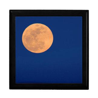 Smoky Mountains Moon Rise Trinket Boxes