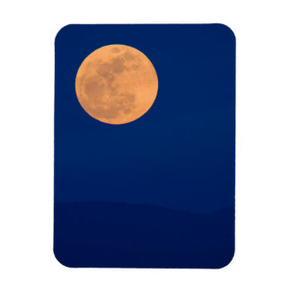 Smoky Mountains Moon Rise Magnet