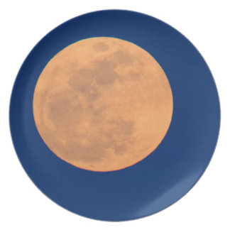 Smoky Mountains Moon Rise Plate