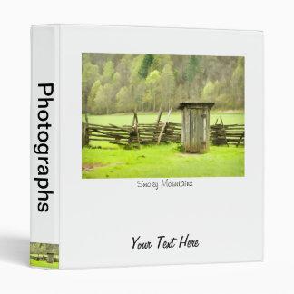 Smoky Mountains Outhouse Binder