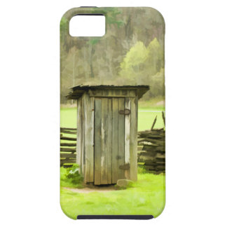 Smoky Mountains Outhouse iPhone SE/5/5s Case