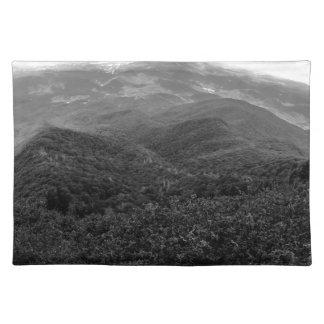 Smoky mountains placemat