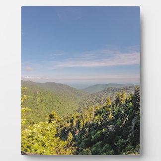 smoky mountains plaque