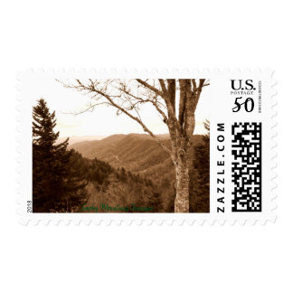 Smoky Mountains Tennessee Clingmans Dome Postage