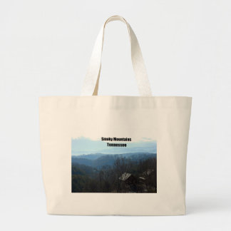 Smoky Mountains, Tennessee Large Tote Bag