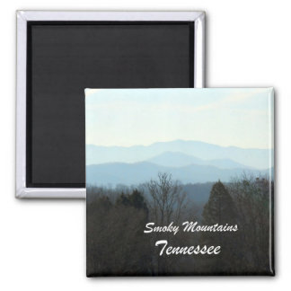 Smoky Mountains, Tennessee Fridge Magnet