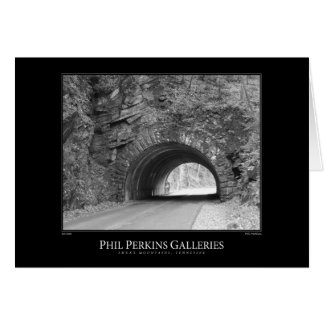 Smoky Mountains Tunnel Card