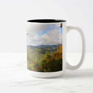 Smoky Mountains Two-Tone Coffee Mug