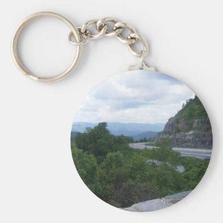 Smoky Mt NC scenic overlook Key Chains