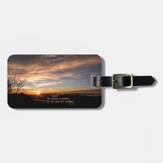 Smoky Mtn Sunrise/How Glorious… J Muir Bag Tag