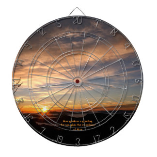 Smoky Mtn Sunrise/How Glorious… J Muir Dart Board