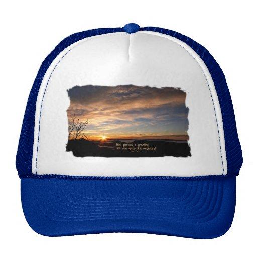 Smoky Mtn Sunrise/How Glorious… J Muir Hats