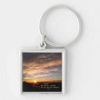 Smoky Mtn Sunrise/How Glorious… J Muir Key Chains