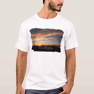 Smoky Mtn Sunrise/How Glorious… J Muir T-Shirt