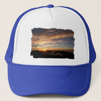 Smoky Mtn Sunrise/How Glorious… J Muir Trucker Hat