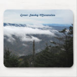 Smoky Mtns above the clouds Mousepad