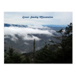 Smoky Mtns above the clouds Postcard