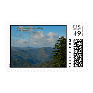 Smoky Mtns: Mtns are calling… John Muir Postage