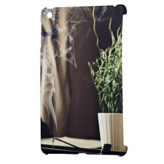 smoky room fragrant incense iPad mini case