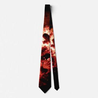 Smoldering Hot Tie