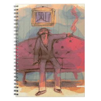 SMOldering racKEt Notebook