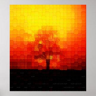 Smoldering Tree Poster