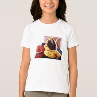 Smooch a moose girls ringer style t shirt