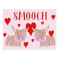 Smooch Postcard