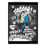 Smooch, Smack - Collage Greeting Card