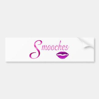 Smooches Bumper Sticker