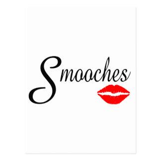 Smooches Postcard