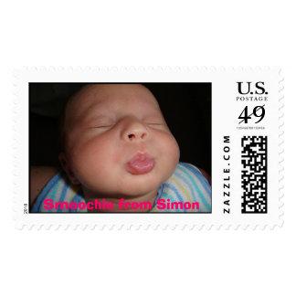 Smoochie from Simon stamp