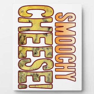 Smoochy Blue Cheese Plaque