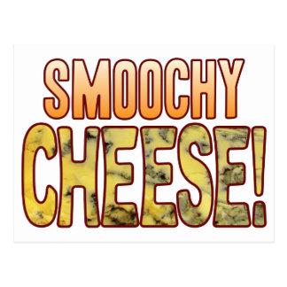 Smoochy Blue Cheese Postcard