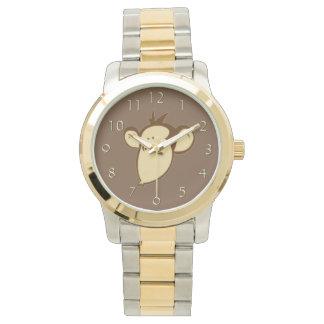 Smoochy Monkey Wrist Watches