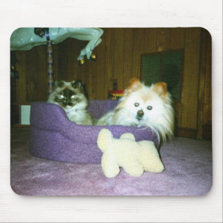 Smoosha y Bunky Mouse Pad