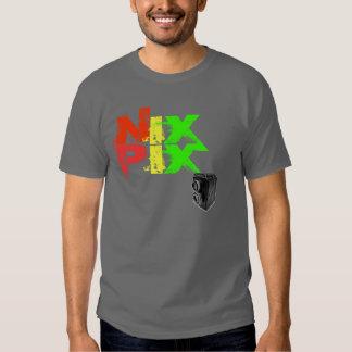SMOOSHED NIX PIX w/ vintage camera T-Shirt