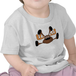 Smooshy the Flying Moose Tee Shirts