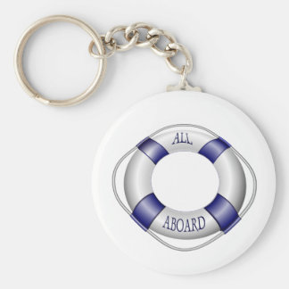 Smooth and Happy Sailing Keychains