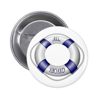 Smooth and Happy Sailing Pinback Button