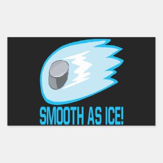Smooth As Ice Rectangular Sticker